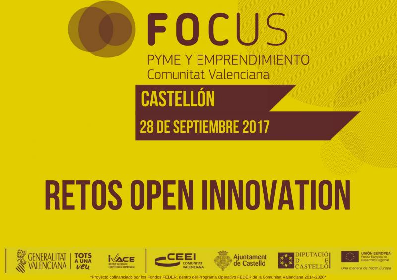 Convocatoria RETOS OPEN INNOVATION FOCUS CV 2017