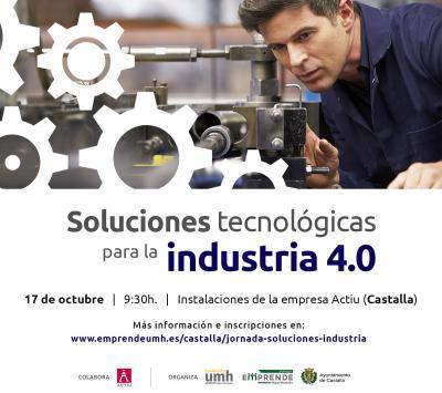 El objetivo de esta sesión es dar a conocer, a través de start-ups de la provincia, soluciones tecnológicas para la industria 4.0.