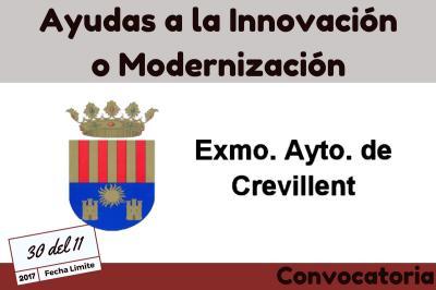 Convocatoria Ayudas a la Innovación y Modernización