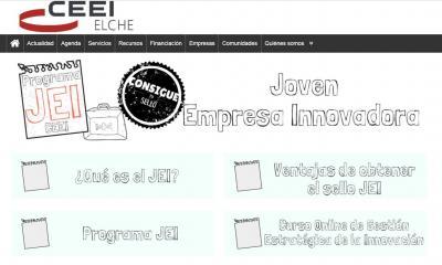 Portal de formación del programa JEI