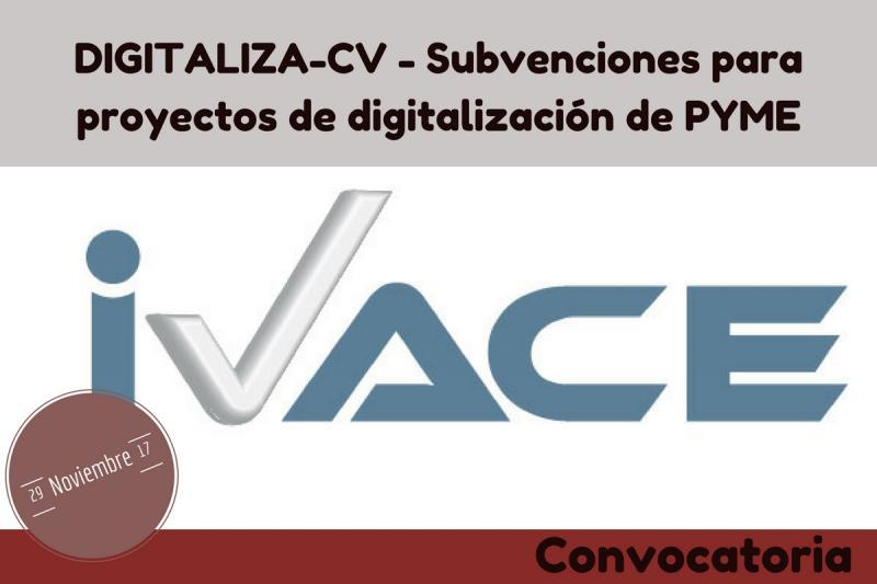 Convocatoria DigitalizaCV 2017