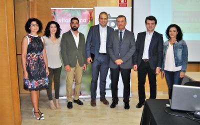 Representantes organizadores del Focus Pyme y Emprendimiento Vega Baja