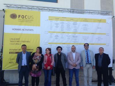 Visita Institucional en Focus Pyme y Emprendimiento L'Alacantí