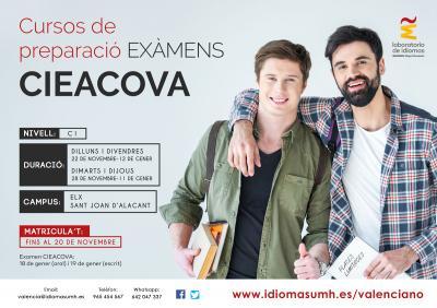 Las clases se impartirán entre semana en los campus de Elche y Sant Joan d'Alacant, tanto en horario de mañana como de tarde