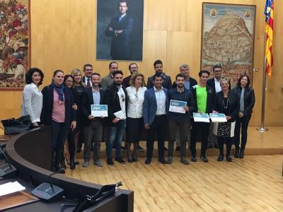 Entrega de Premios Concurso Ideas Benidorm 2017
