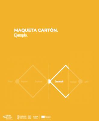 Maqueta Cartón