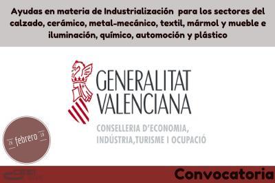 Nuevas ayudas a la industrialización