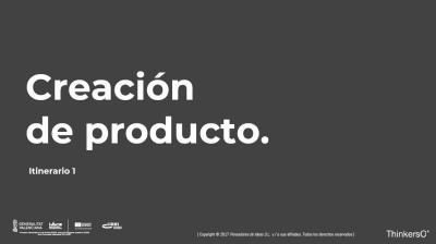 Manual creación de producto