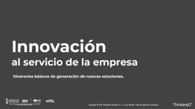 Manual Innovación al servicio de la empresa