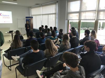 Nuria Grané, Vicerrectora de Estudiantes y Empleo de la UA