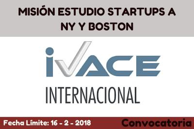 MISIÓN ESTUDIO STARTUPS A NY Y BOSTON