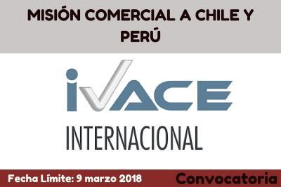 MISIÓN COMERCIAL A CHILE Y PERÚ