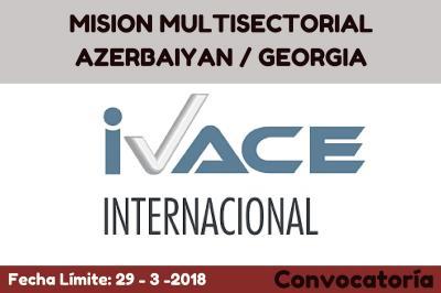 MISION MULTISECTORIAL AZERBAIYAN / GEORGIA