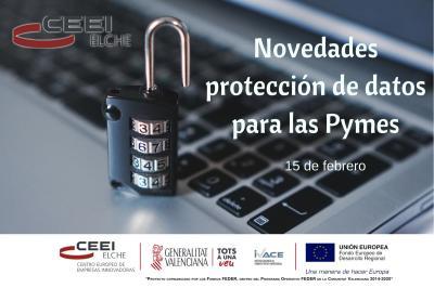 Novetats en la protecció de dades de les Pimes