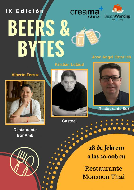 beers and bytes gastronómico