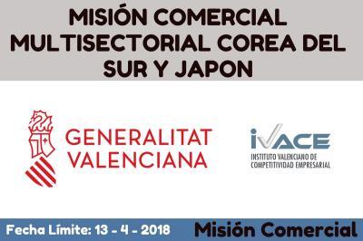 MISIÓN COMERCIAL MULTISECTORIAL COREA DEL SUR Y JAPON