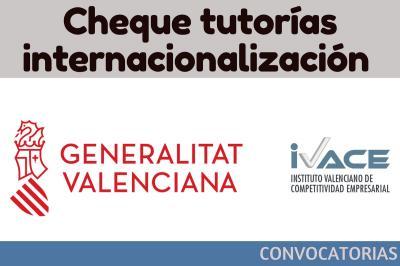 Cheque tutorías internacionalización (asesoramiento a empresas 2018)