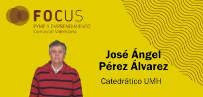 El catedrático de la UMH, Jose Ángel Pérez, estará en el Focus Baix Vinalopó 2018