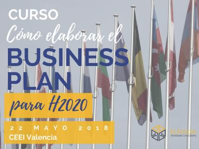 Programa del Curso Cómo describir y redactar el Business Plan en Horizon 2020