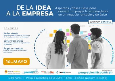 Este encuentro está abierto al público en general, aunque especialmente dirigido a emprendedores con proyectos empresariales