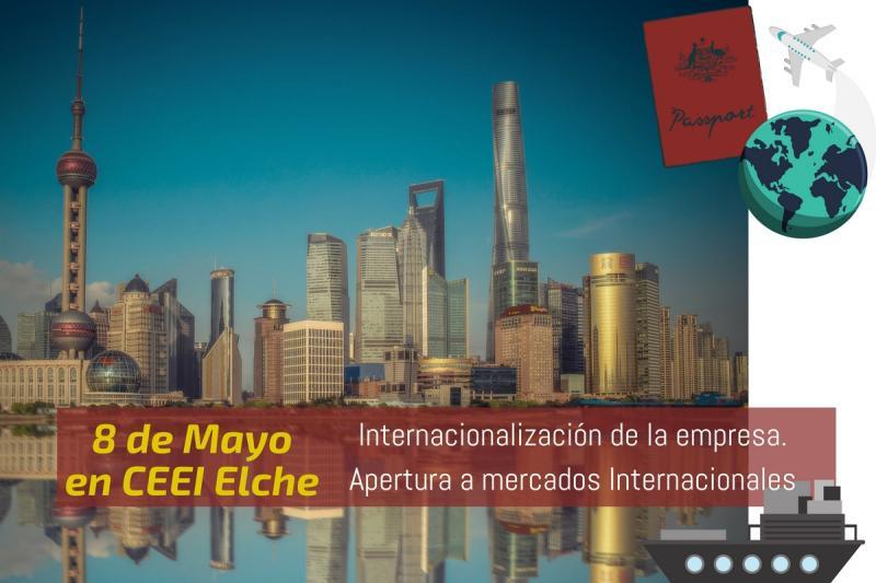 ¡Abre tu horizonte empresarial! Te invitamos a nuestra jornada sobre internacionalización