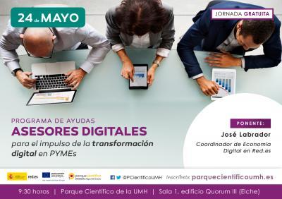 La iniciativa tiene como finalidad proporcionar ayudas económicas a pymes para que contraten servicios de asesoramiento orientados a adaptar su negocio a la era digital