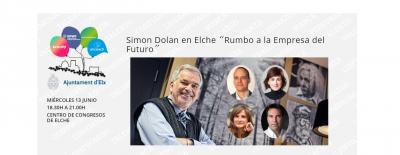 """Simon Dolan en Elche """"Rumbo a la Empresa del Futuro"""""""