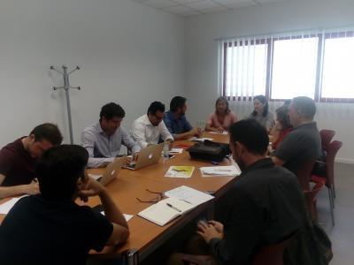 Reunión comité en Cámara de Comercio