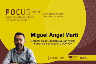 La cooperativa Sant Vicent Ferrer presentará su proyecto de innovación social en el Focus