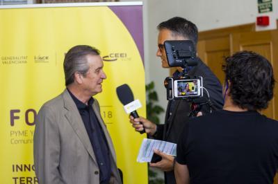 Entrevista a Francisco Álvarez. Focus Pyme y Emprendimiento Alto y Medio Vinalopó