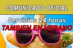 servicios 24 horas en verano