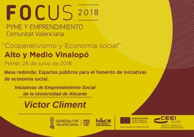 Iniciativas de Emprendimiento Social de la Universidad de Alicante