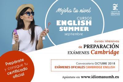 Ambos cursos estarán disponibles en los campus de Elche y Sant Joan d'Alacant