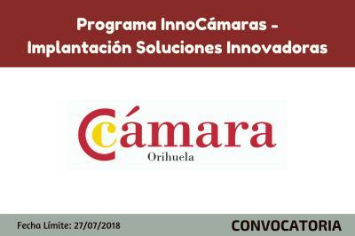 Programa InnoCámaras-Implantación Soluciones Innovadoras