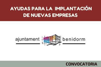 Ayudas para la implantación de nuevas empresas