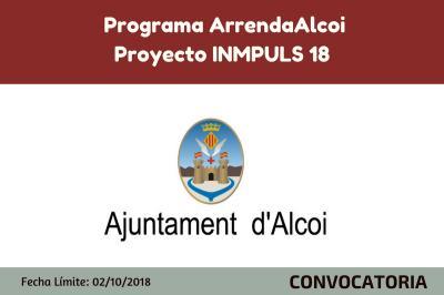 Programa Arrend'Alcoi. Proyecto Inmpuls 18