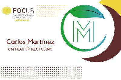 Mobiliario urbano a partir de Residuos Plásticos en Focus Pyme Marina Baixa