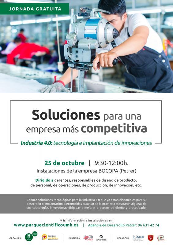 Start-ups de la provincia de Alicante y del Parque Científico de la UMH mostrarán sus propios desarrollos y creaciones tecnológicas dirigidas a mejorar, agilizar y optimizar diferentes procesos