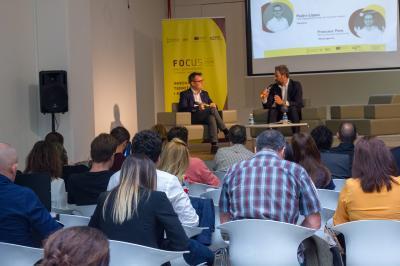 Sesión el poder de la colaboración startups-corporate