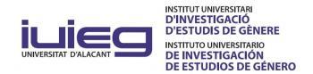 Instituto Universitario de Investigación de Estudios de Género (IUIEG)
