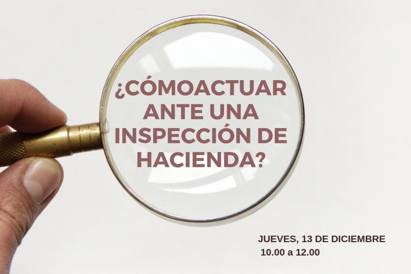 //Nueva Jornada// Aprende a actuar ante una inspección de Hacienda