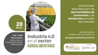 El objetivo es concienciar de la importancia de las nuevas tecnologías y de la inversión en I+D en las empresas agroalimentarias