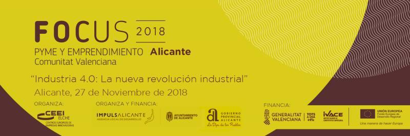 ¡Llegas a tiempo! Vente a Focus Pyme y Emprendimiento Alicante