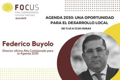 Federico Buyolo mostrará las oportunidades de desarrollo local de la Agenda 2030