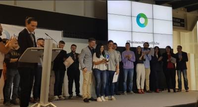 Los impulsores de Garpark recibieron el premio