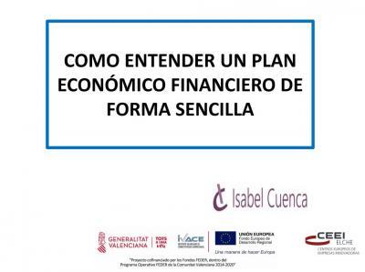 Como entender un plan económico financiero de forma sencilla