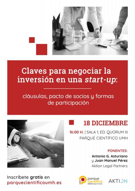 Los ponentes darán a conocer la relevancia del pacto de socios así como las cláusulas que debe incluir