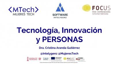 Tecnología, Innovación y PERSONAS