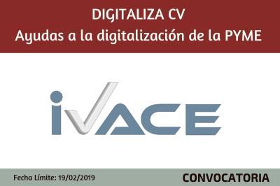 DIGITALIZA-CV - Subvenciones para proyectos de digitalización de la PYME