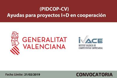 Ayudas PIDCOP-CV